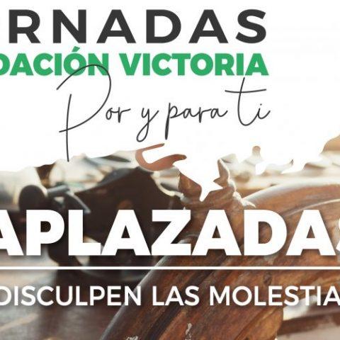 APLAZADAS LAS  JORNADAS FUNDACIÓN